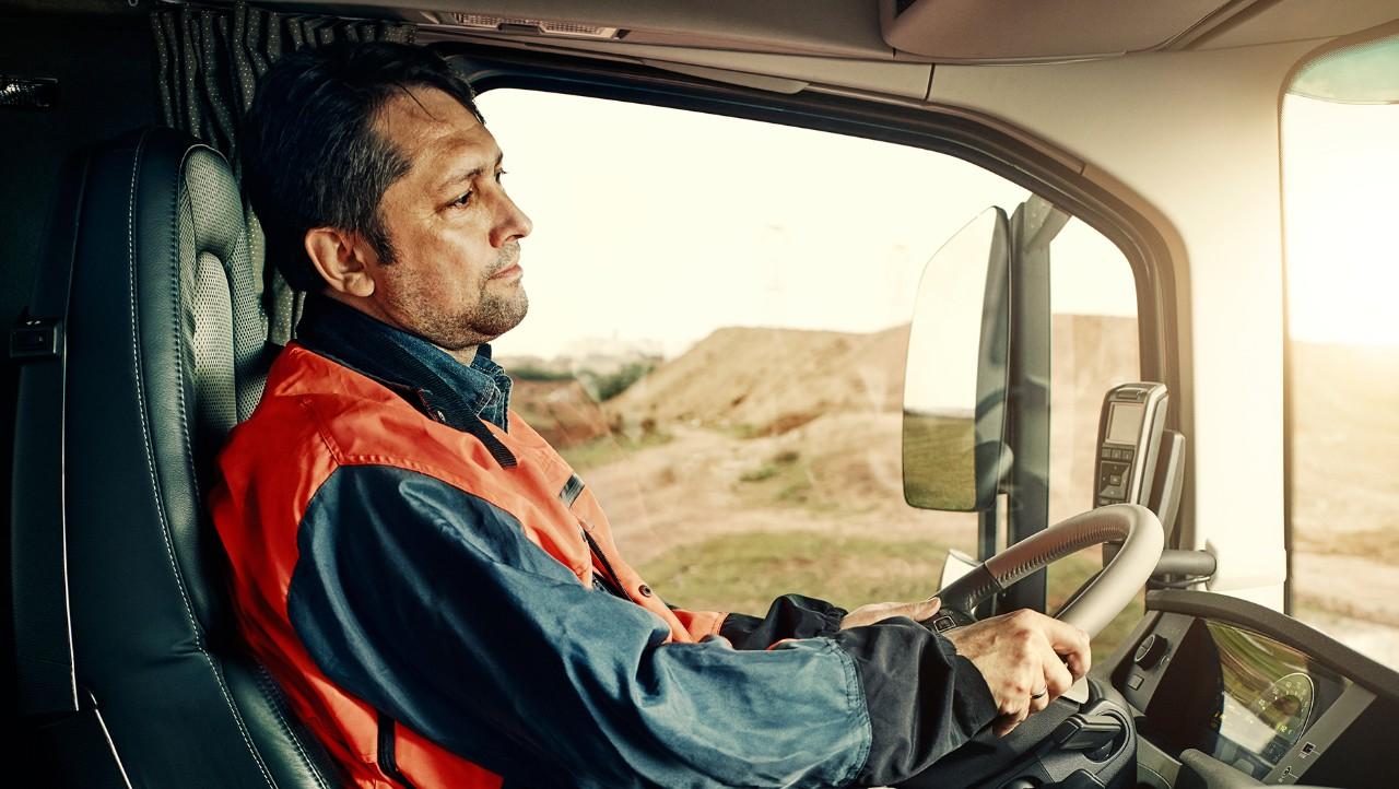 Volvo driver development trucks